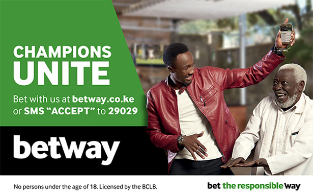 Betway bets on 34° in Kenya