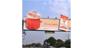 Alliance Media's steaming Sadza billboard