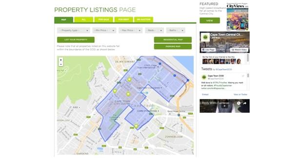 Cape Town CCID launches CBD property portal