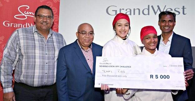 GrandWest CSI School Cook-Off winners