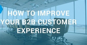 How to improve your B2B customer experience