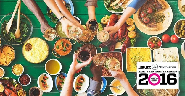 2016 Eat Out Best Everyday Eateries in Gauteng, KZN, Free State, Mpumalanga announced