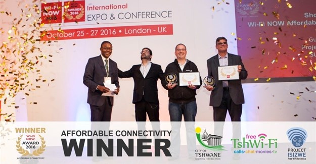 TshWi-Fi scoops global award for Affordable Connectivity