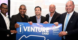 From left: Enver Duminy (CEO of Cape Town Tourism), Cllr Eddie Andrews, David Henwood (CEO of iVenture City Pass Cape Town), Claus Tworeck (City Sightseeing), James Vos (Shadow Minister of Tourism)