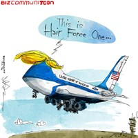 [Bizcommunitoon] Trump Air Force