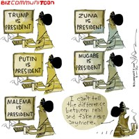 [Bizcommunitoon] Fake news