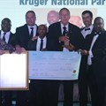 Shield Award winners, Karoo Lion Search Team from Karoo National Park, SANParks