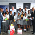 Primedia Outdoor brings early Christmas to Alex's Skeen Primary School