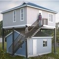 Building 'fly over' homes to solve housing challenge