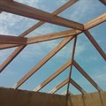 Laminated timber can be used for structural applications