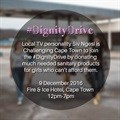 Local celeb launches #DignityDrive to collect sanitary products for young girls