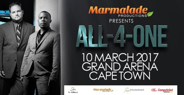 All-4-One to tour SA in 2017