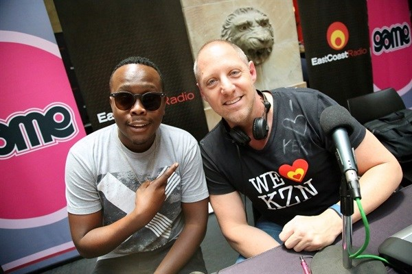 Khaya Mthethwa jetted into Durban to support the East Coast Radio Toy Story with Game Corporate Day Challenge.