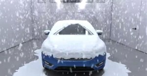 Ford Weather Factory simulates extreme weather conditions on demand