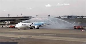 Delta Johannesburg inaugural flight