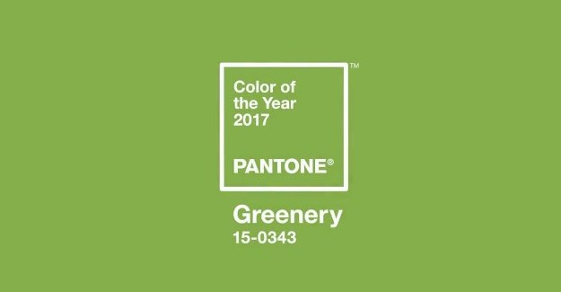 Welcome #Greenery, Pantone's 2017 colour of the year
