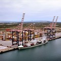 Port of Ngqura terminal. Source:
