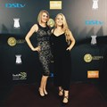 Bonse with  Gabi van Niekerk on the Loeries red carpet earlier this year.