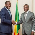 ATI CEO, George Otieno and Benin president, Patrice Talon