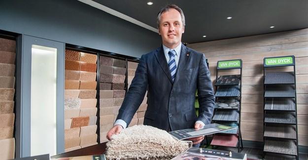 Dr Mehran Zarrebini, CEO of PFE International and Van Dyck Carpets