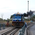 diego_cue via  - Train on the border of Zambia and Zimbabwe