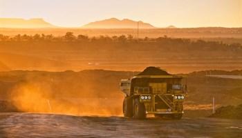 Rain halts big work at big local mine