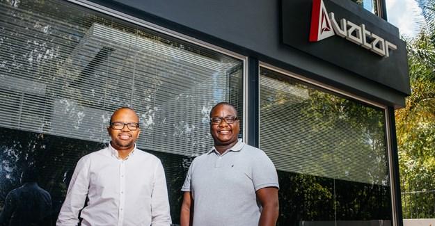 AVATAR cofounders Zibusiso Mkhwanazi and Veli Ngubane