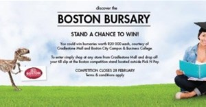 Win a Boston City College education bursary from Cradlestone Mall