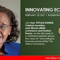 Innovation summit for Kenya