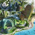 An alternative city inspired by nature