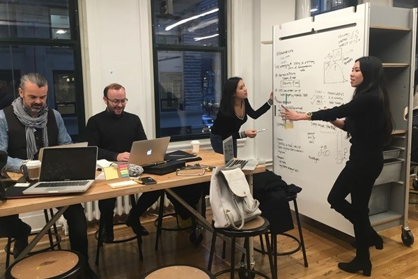 Images from the design sprint challenge for the city of New York.