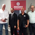 Master entrepreneur GG Alcock inspires students at Regent Business School in Durban