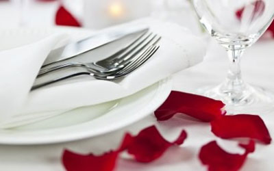 Homey Valentine's Day dining