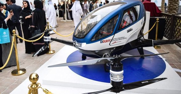 You'll be travelling around Dubai in drones come summer