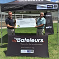 The Bateleurs welcome generous donation