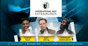 Artists performing at the International Jazz Extravaganza
