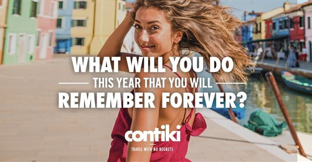 New Contiki campaign encourages travellers to see the bigger picture