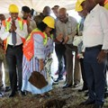 Sod turning marks start of Skukuza Safari Lodge construction