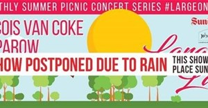 Large On The Lawn postponed