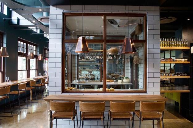 Behind the Kirton at Foxcroft Restaurant