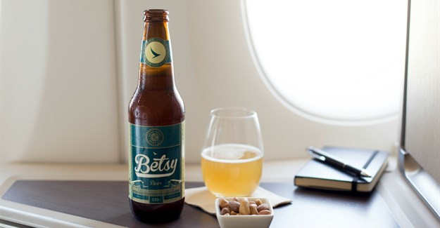 World's first craft beer brewed to be enjoyed while flying