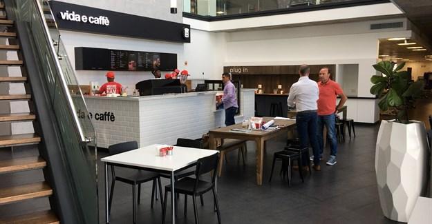 Vida e Caffè caters to demand for high street brands in corporate HQ