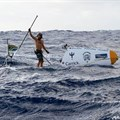 Chris Bertish finishes first solo, unsupported transatlantic SUP Crossing