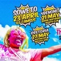 The Color Run kicks off Superhero Tour in Soweto this April