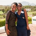 Dr Mukani Moyo and Dr Providence Moyo on graduation day in Stellenbosch. Photo: Anina Fourie/Stellenbosch University