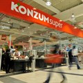 Konzum, the largest Croatian food retailer, is a part of Agrokor Group.