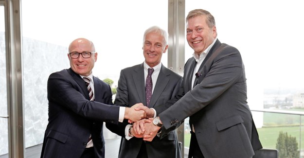 Tata Motors to enter long-term partnership with VW, Skoda