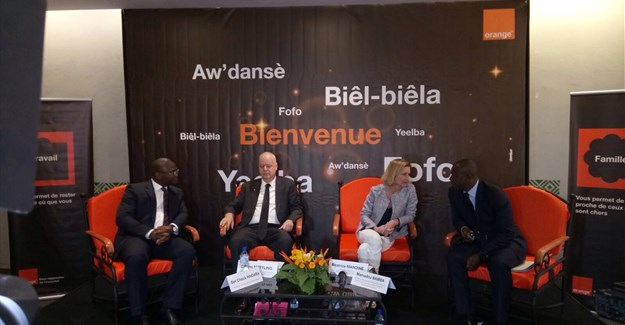 Orange launch in Burkina Faso.