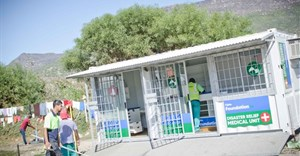 Medical disaster relief unit assists Hout Bay fire victims