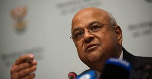 Finance minister, Pravin Gordhan